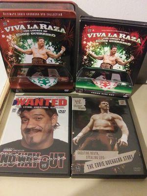 wwe eddie guerrero dvd set for Sale in Los Angeles, CA