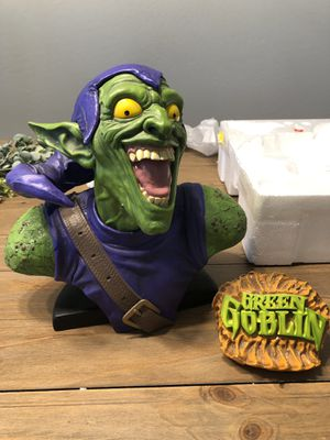 Green Goblin Legendary Scale Bust Sideshow Collectibles Exclusive for Sale in Mobile, AZ