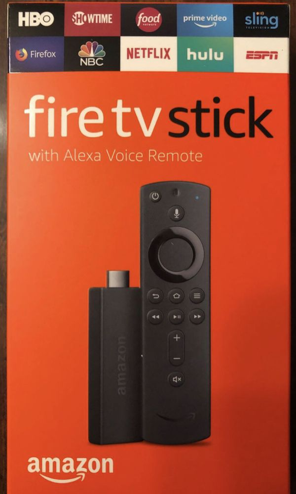 Fire TV Stick with Alexa Voice Remote, streaming media player, SHIP ONLY