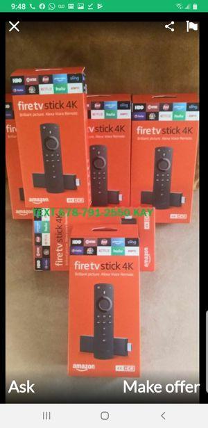 Amazon fire tv stick 4k unlock for Sale in Lake Worth, FL