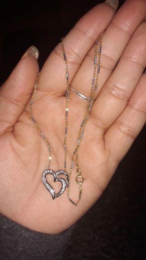 Beutiful chain silver 9.25 / hermosa cadena 9.25 for Sale in Compton, CA