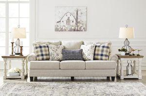 Meggett Lineeeen Queen Sofa Sleeper for Sale in Fairfax, VA