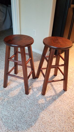 Wooden bar stools for Sale in Houston, TX