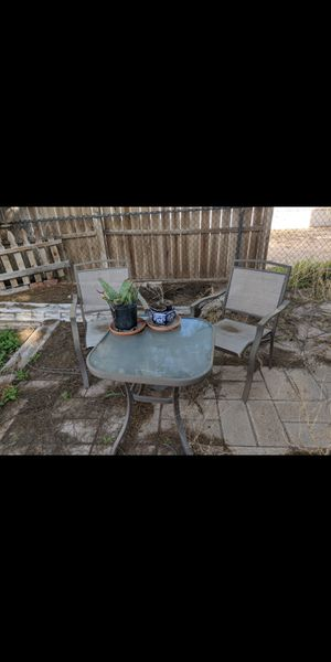Outside table and 2 chairs for Sale in Tucson, AZ