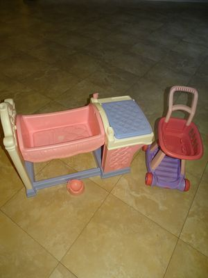 Fisher Price nursery center and cart for Sale in Pembroke Pines, FL