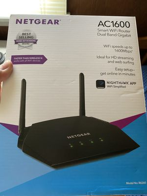 NETGEAR AC1600 router for Sale in New Cumberland, PA