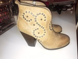 Steven Madden Booties Sz 7.5M for Sale in Queens, NY