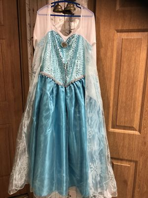 From The Movie Frozen Elsa Custom Dress Blue for Sale in Dupont, PA