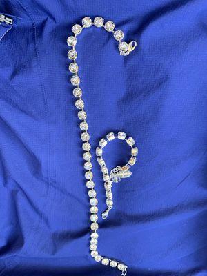 Handmade Swarovski Crystal jewelry set new with box! for Sale in San Diego, CA