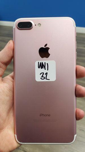 iPhone 7 Plus Unlocked Desbloqeado 32GB tmobile metro att cricket for Sale in Garland, TX