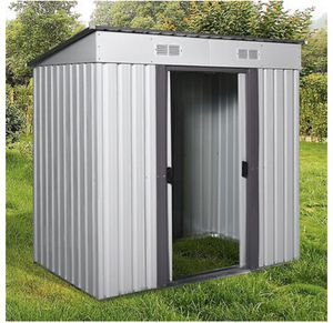 Outdoors Shed Storage for Garden Tool House with Vents Allseason for Sale in Los Angeles, CA
