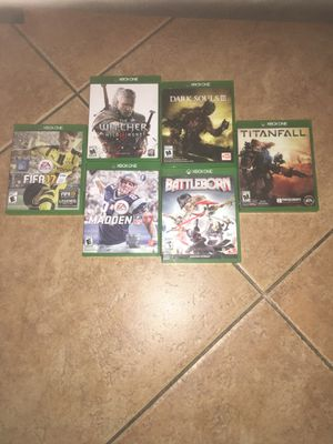 Xboxone games for Sale in Glendale, AZ