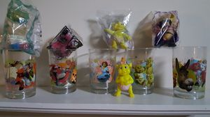 Disney collectable Shrek3 glasses and characters for Sale in Raleigh, NC