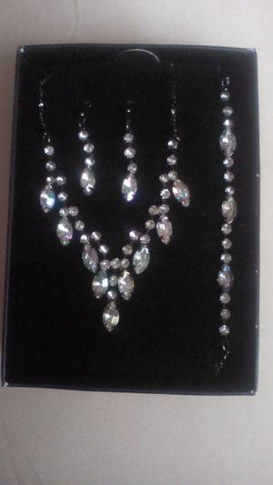 Diamond Jewelry 3-Piece Set for Sale in Phoenix, AZ
