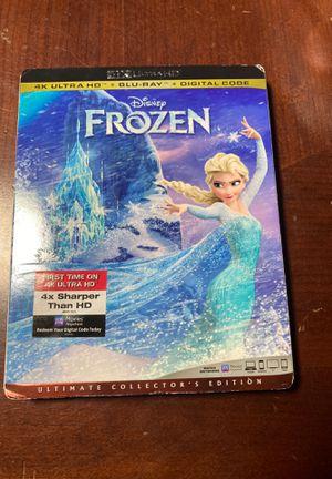Disney Frozen 4K blu-ray movie for Sale in Fontana, CA