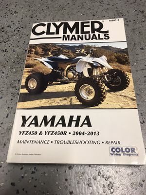Clymer Yamaha YFZ450 & YFZ450R 2004-2013 for Sale in Las Vegas, NV