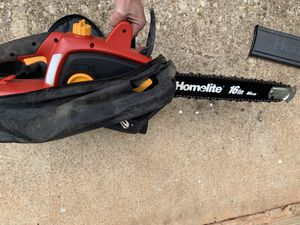 Homelife 16in electric chainsaw for Sale in Duluth, GA