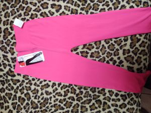 Hot pink spandex leggings for Sale in Canton, OH