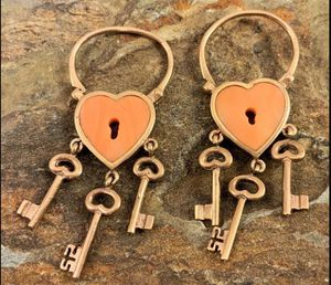 14kt Mother of Pearl Lock & Key Charm for Sale in Roswell, GA