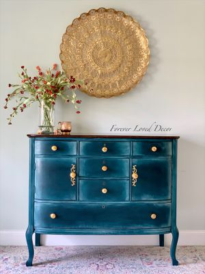 Hand Painted Dresser/Buffet or Vanity for Sale in Tequesta, FL