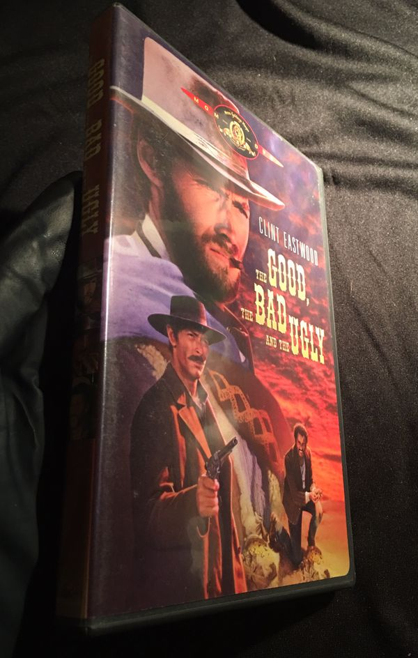 1998 MGM The GOOD, The BAD and The UGLY Clint Eastwood DVD WIDESCREEN English French Spanish Language Subtitles DVD GREAT Condition NO SCRATCHES