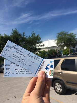 Rays home opener tickets for Sale in Saint Petersburg, FL