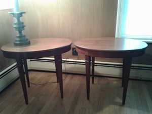 2 Cherry Wood end tables for Sale in Everett, MA