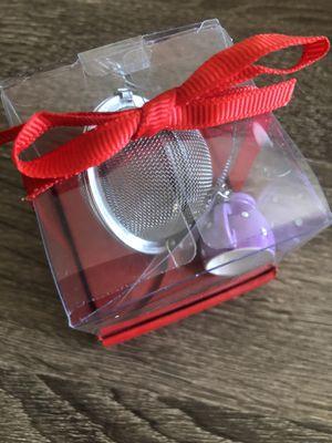 Stainless Steel Mesh Tea Ball Tea Infuser Seasoning Strainers W/ Mini Tea Cup for Sale in Henderson, NV