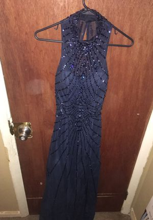 Navy Blue Formal Dress For Sale for Sale in Norristown, PA