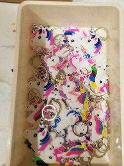 Assorted Unicorn Key Chains for Sale in Santa Ana,  CA