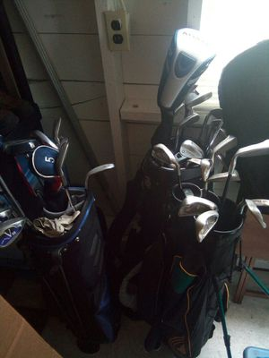 3 sets of golf clubs for Sale in Seattle, WA