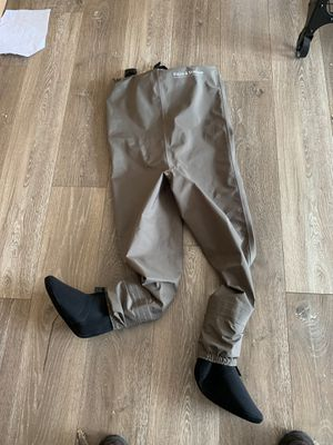 Youth Medium breathable waders with neoprene sock for Sale in North Bend, WA