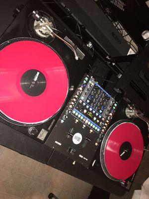 Technics 1200 & rane 62 serato for Sale in New Britain, CT