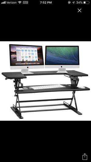 Adjustable sit stand desk top for Sale in San Francisco, CA