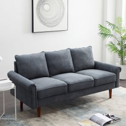NEW Callahan Living Room Sofa. Gray for Sale in Dublin,  OH