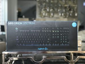G810 Logitech Gaming Keyboard with backpack for Sale in Wylie, TX