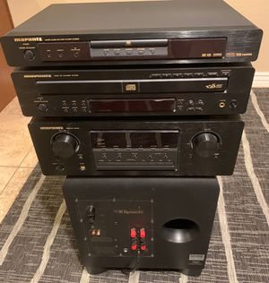 Marantz receiver SR4021 -Marantz 5 disc cd changer /Marantz DVD player /Klipsh ksw.12 subwoofer for Sale in Phoenix, AZ