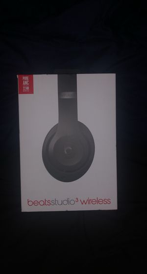 Beats Studio 3 Wireless Bluetooth headphones for Sale in Canyon Lake, TX