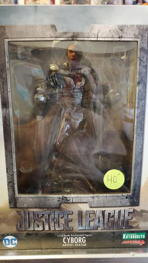 Justice league 1/10 scale cyborg for Sale in Fresno, CA