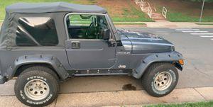 2001 Jeep tj for Sale in Manassas, VA