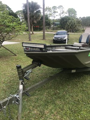 All welded Jon boat for Sale in Boynton Beach, FL