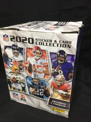 2020 NFL Sticker & Card Blaster Box New Sealed for Sale in Temecula, CA