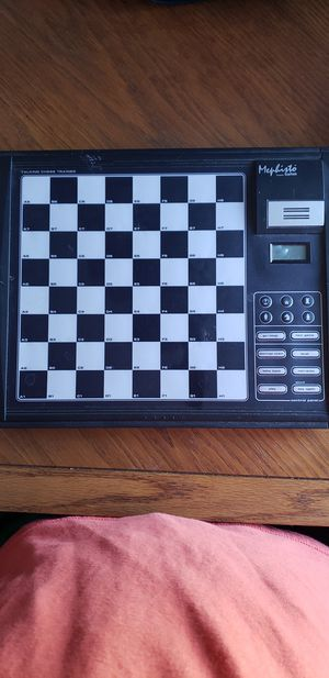 Chess set. You can play against computer for Sale in Bloomington, IL