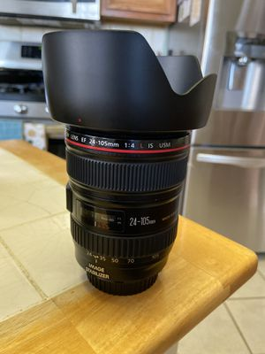 Canon 24-105mm F4 and 50mm 1.8 for Sale in Grand Prairie, TX