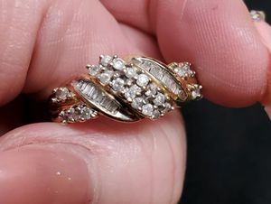 10k gold diamond ring for Sale in Hoopa, CA