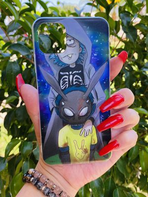 Brand new cool iphone 11 PRO MAX 6.5 case cover phone case rubber Rick and morty cartoon girls guys mens womens skate skateboard swag brands hype hyp for Sale in San Bernardino, CA