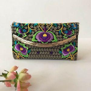 Embroidered floral black wallet wristlet bag for Sale in GRANT VLKRIA, FL