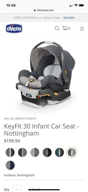 Like New Chicco KeyFit 30 car seat and 2 bases for Sale in Tacoma, WA