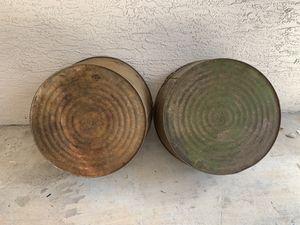 Two Florida Seasoned Galvanized Wash Tubs for Sale in Jupiter, FL