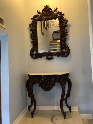 Large Hanging Mirror & Console Tables (3 TOTAL) for Sale in Miami, FL
